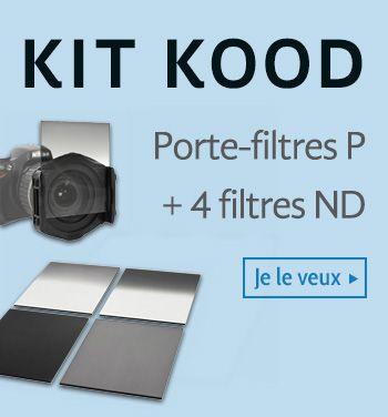 Portafiltres P et 4 filtres