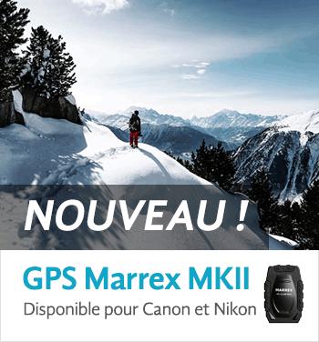 GPS pour Canon et Nikon
