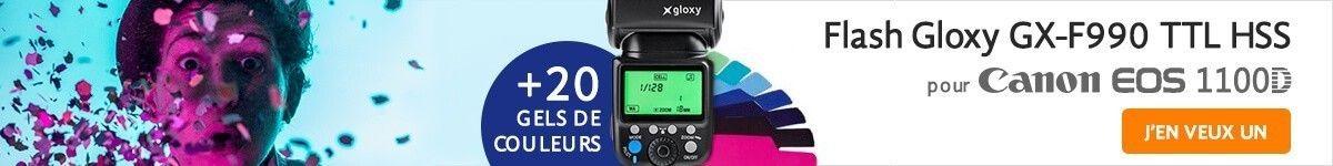 Flash TTL pour Canon 1100D