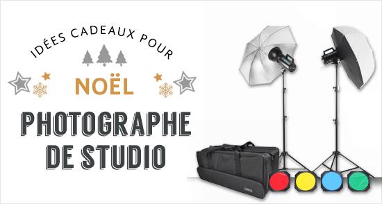 Cadeaux pour photographes studio