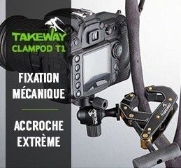 Mini-trépied Takeway Clampod T1