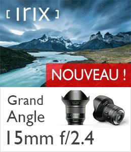 Objectif Grand Angle Irix 15mm f2.4