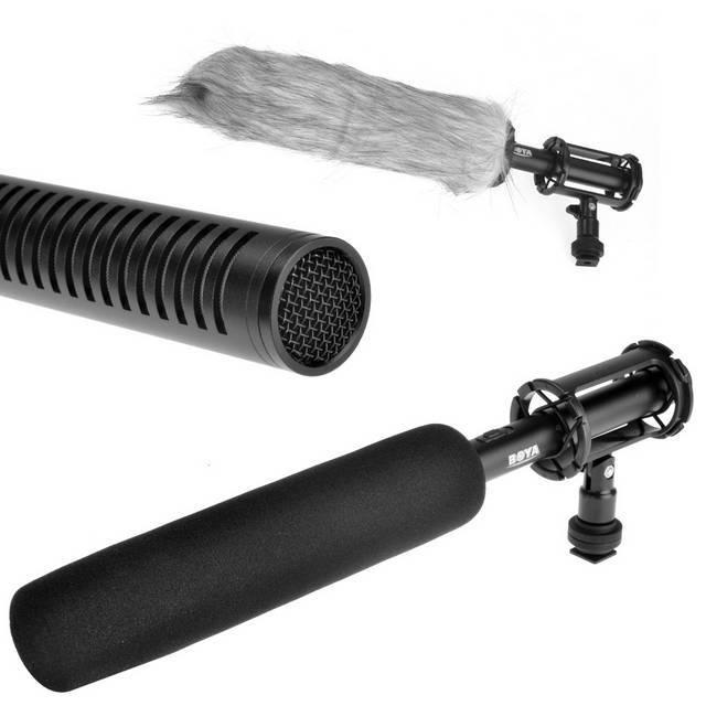 Microphone Professionnel Boya BY-PVM1000