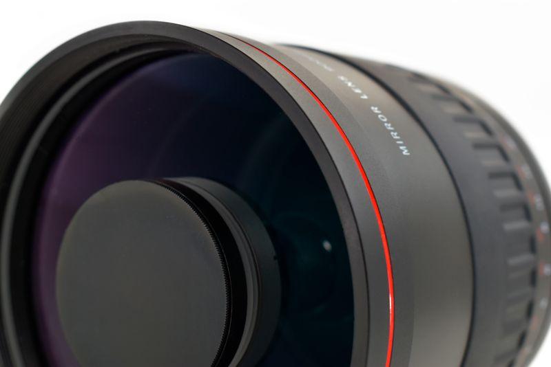 Gloxy 900mm f/8.0 Téléobjectif Mirror