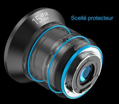 Irix 11mm f/4.0 Blackstone Objectif Grand angle