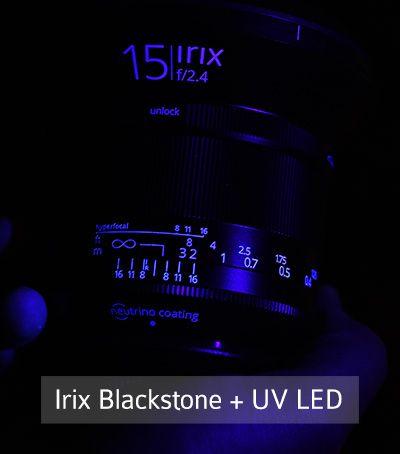 Irix 15mm f/2.4 Blackstone Objectif grand angle