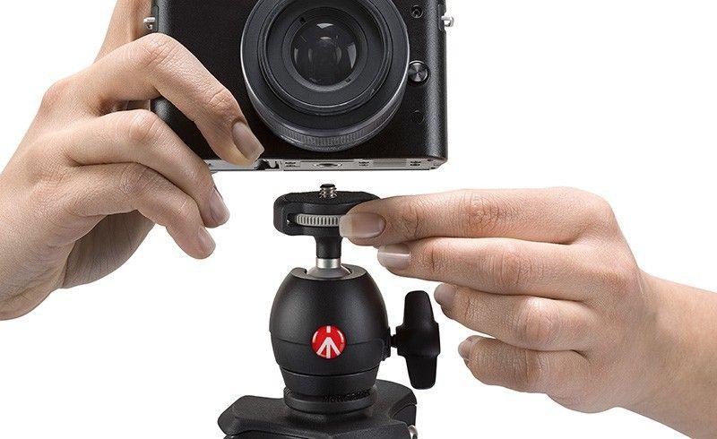 Trépied Manfrotto Compact Light Noir pour Sony DSC-HX100V