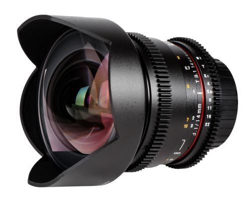 Samyang 14mm T3.1 V-DSLR IF ED AS UMC Objectif