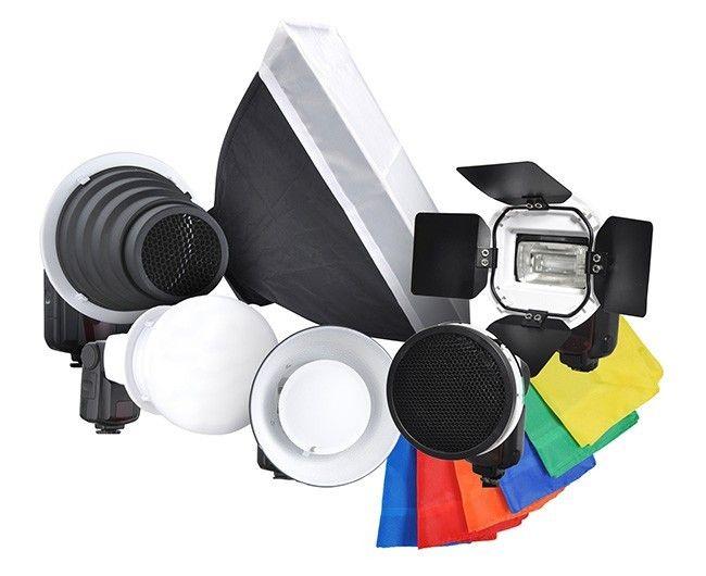 Strobist Visico 2 Kit accessoires + Adaptateur