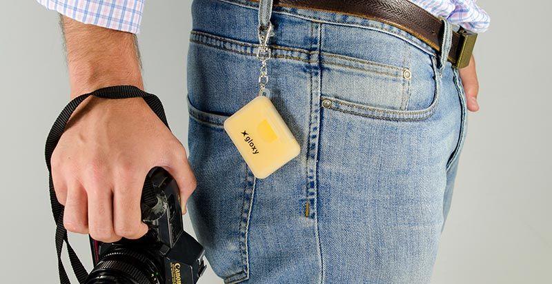 Étui pour cartes SD Gloxy pour Sony DSC-HX100V