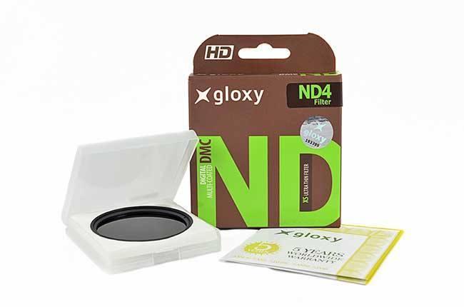 Filtre à Densité Neutre ND4  pour Sony DSC-HX100V