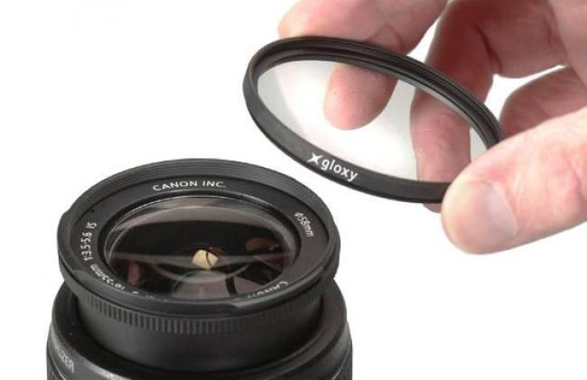 Kit de trois filtres Gloxy CPL, UV, ND4 pour Sony DSC-HX100V