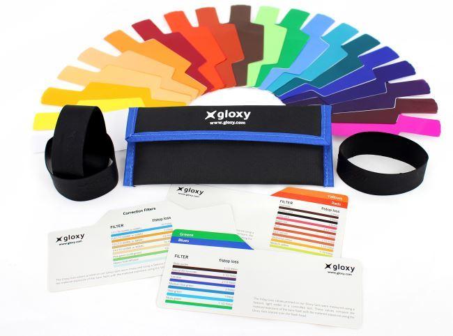 Gloxy GX-G20 Kit gels couleur pour Sony DSC-HX100V