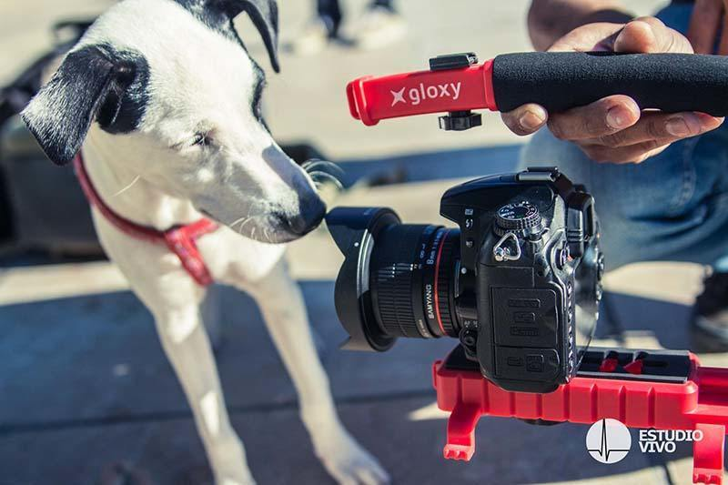 Stabilisateur vidéo Gloxy Movie Maker pour Sony DSC-HX100V